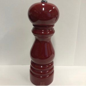 """Peugeot Classic Pepper Mill 7"""" Red Laquer"""